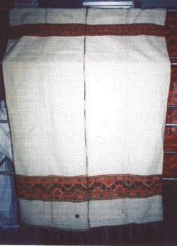 ลำดับที่ 00034 ผ้าห่มขาว