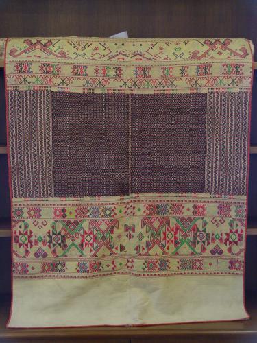 ลำดับที่ 00071 ผ้าห่มลายพญานาค 4 หัว